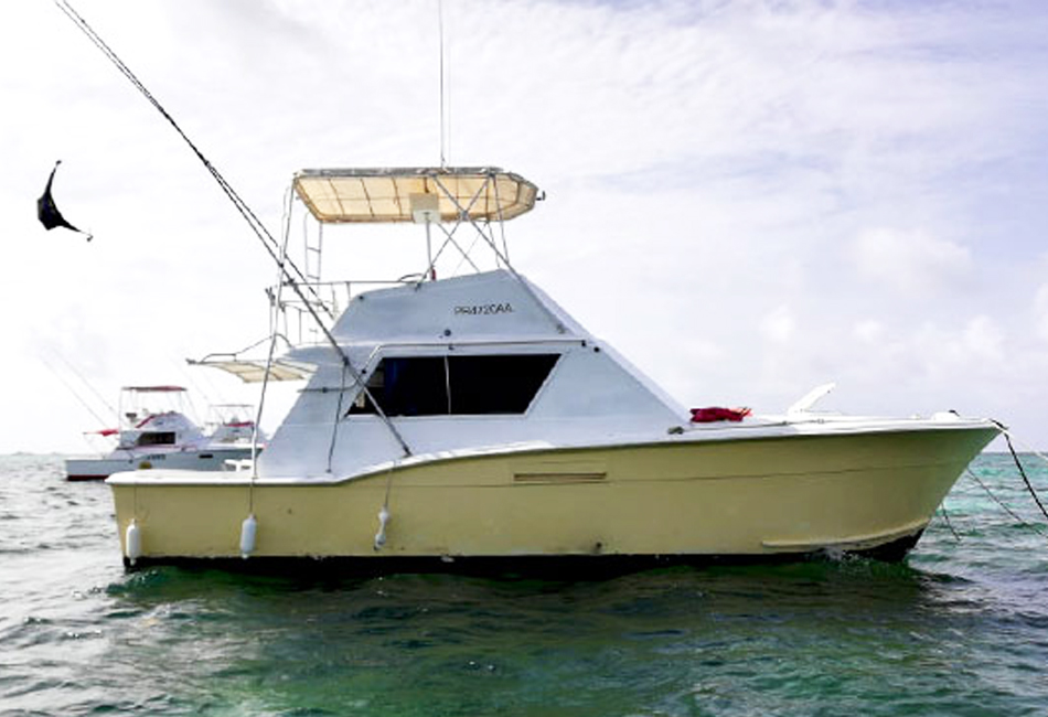 38.2 ft Hattera Fishing and Diving Boat