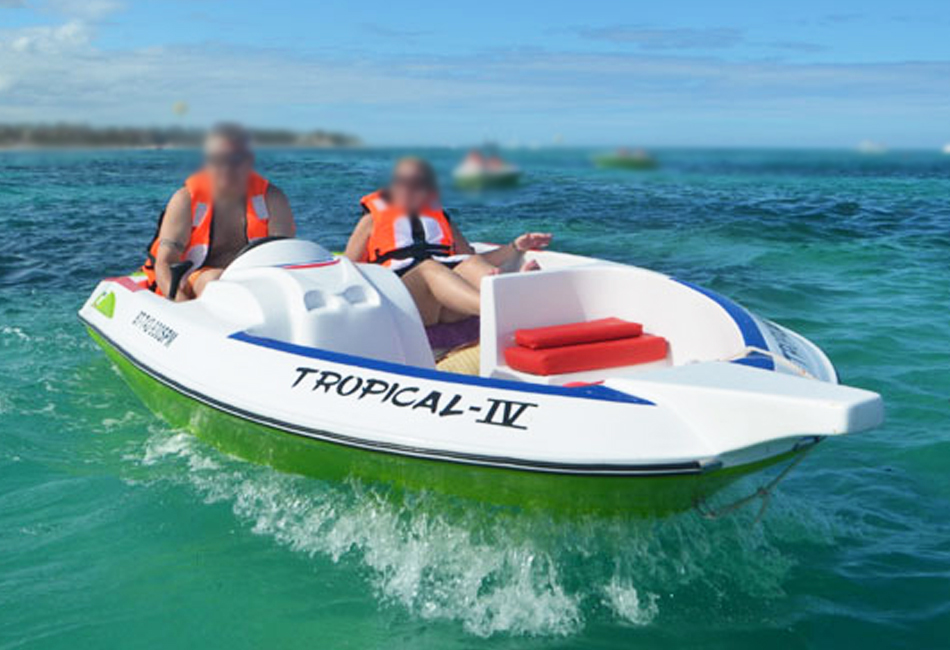 Tropical IV Speedboat